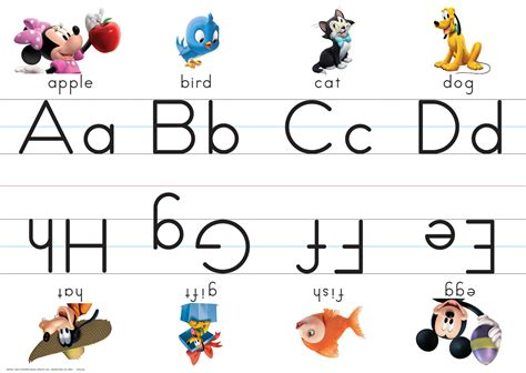 printable mickey mouse alphabet letters mickey mouse clubhouse alphabet sets eureka school