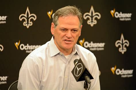 mickey loomis for saints fans there s nothing left but the waiting