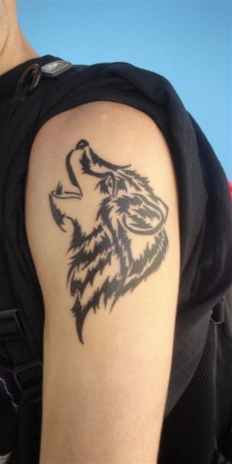 wolf tattoo on arm 1000 geometric tattoos ideas