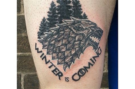 40 quot game of thrones quot tattoos that george r r martin can t