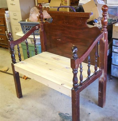 how to make a bench from a headboard headboard bench fool4peppers benches pinterest