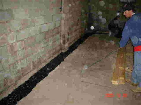 waterproofing a basement floor basement waterproofing basements