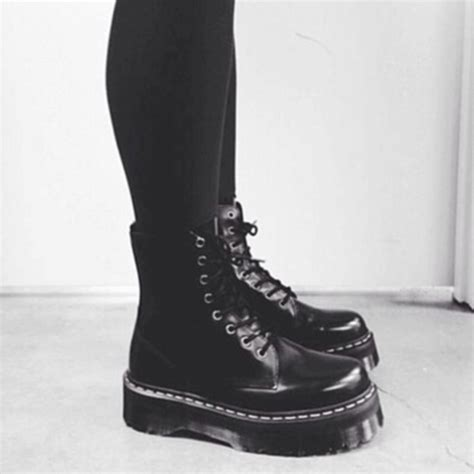 mens grunge boots shoes drmartens grunge grunge shoes rock