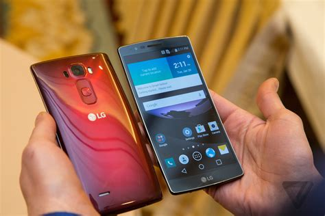 lg g flex 2 the verge awards at ces 2015 the year in tech starts here