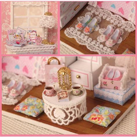 mobili in miniatura fai da te cuteroom in miniatura di kit fai da te legno casa delle