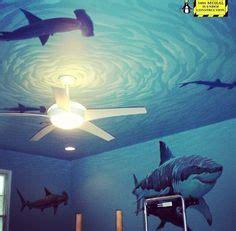 shark room sharks in the porthole porcelain brushed nickel drawer knob 12 00 via etsy sharks