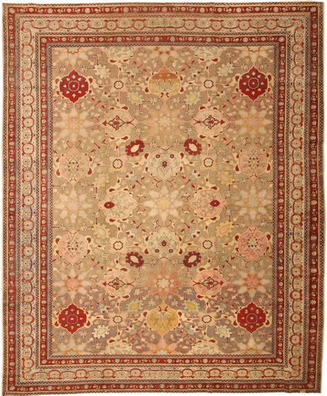 Turkish Rugs by Antique Hereke Turkish Rug 43481 Nazmiyal Collection