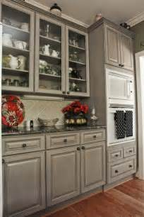beautiful gray cabinets to compliment the black