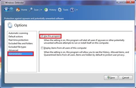 windows 8 defender turn on windows defender turn on or off windows 7 help forums