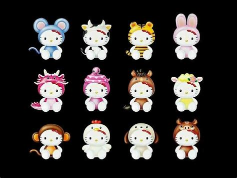 hello kitty zodiac wallpaper wallpaper hello kitty