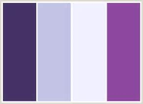 colors that go with purple colorcombo14 with hex colors 443266 c3c3e5 f1f0ff 8c489f