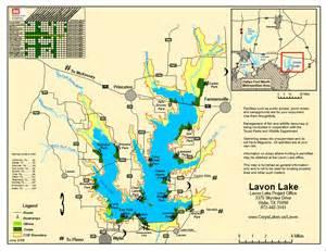 map lake lavon