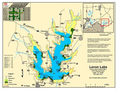 lavon texas map map lake lavon