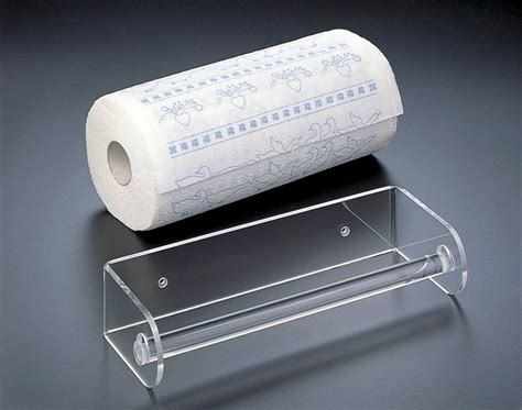 acrylic paper towel holder in paper towel holders
