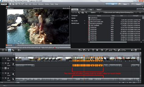 editing software gopro editing software how i edit my gopro a complete workflow in magix edit pro plus