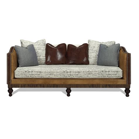 Furniture Sf by San Francisco Sofa Ivory Green Gables