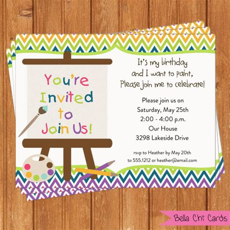 printable editable birthday cards arts crafts invitation kids birthday printable