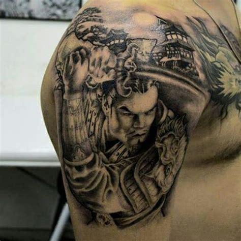 tattoo oriental samurai e gueixa samurai oriental tatuagem com tatuagens tattoo