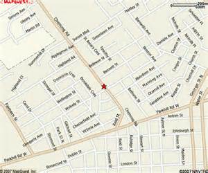 peterborough canada map peterborough ontario details www popeyescanada