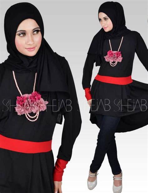 Baju Muslim Ibu Ibu Terkini Barlintiy Trend Fashion Baju Muslim Kekinian