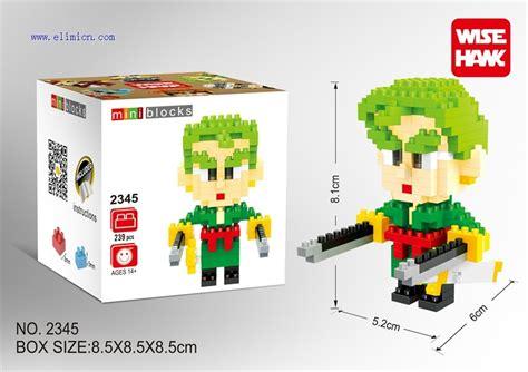 2296 Series Wise Hawk Large Nanoblock Lego wisehawk blocks one 2345