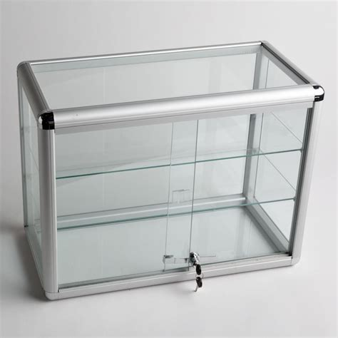 glass display cabinet with lock glass display case with 2 shelves a b store fixtures