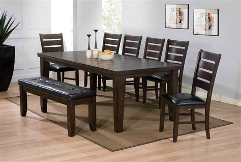 espresso dining room set urbana dining room set espresso