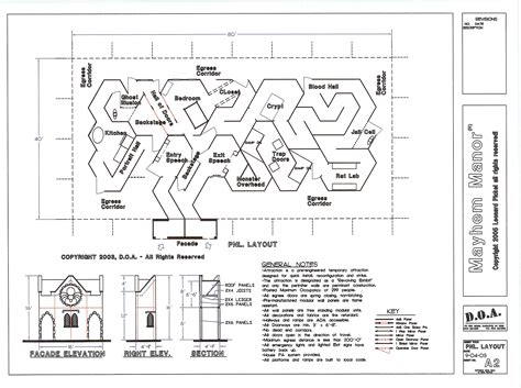 layout for haunted house haunted house layout design house best art