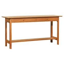 sofa table modern modern shaker 2 drawer console sofa table handcrafted in