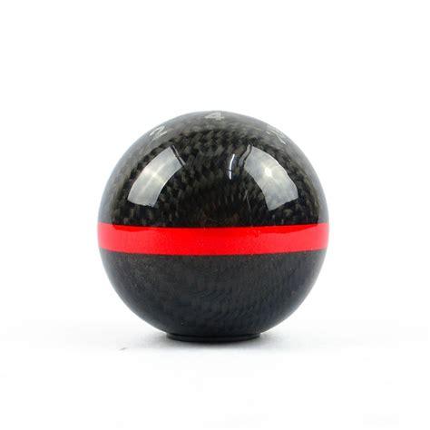 jdm mugen carbon fiber 5 speed manual gear shift knob for