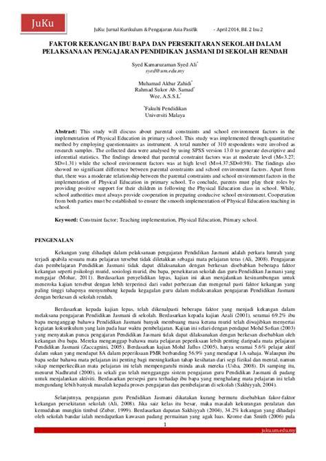 Kurikulum Dan Pengajaran 1 muhammad akbar zahidi jurnal kurikulum pengajaran asia