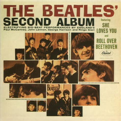 the beatles second album artwork usa the beatles bible