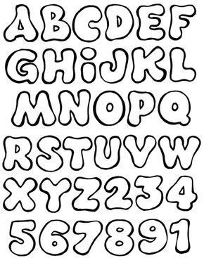 Abecedario y números | Abecedarios, letras y números