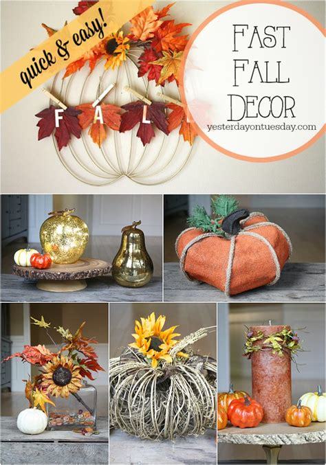 fall home decorating ideas quick and simple 183 storify fast fall decor yesterday on tuesday