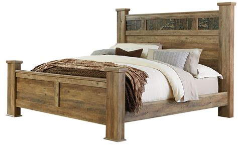 bed with posts king bed with oversized square posts by standard furniture