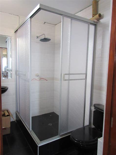 puertas de duchas puertas de ducha en acr 237 lico y vidrio templado desds 340