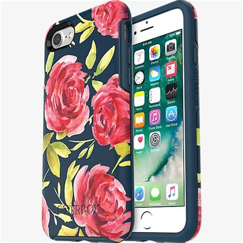 Otterbox Symmetry Graphics For Iphone 7 Plus Ori Asli otterbox symmetry series for iphone 7 bouquet