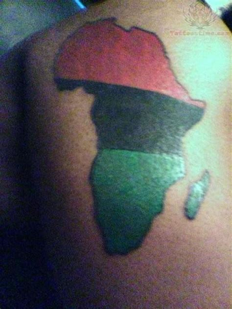 africa map tattoo designs map