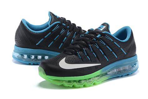 top selling running shoes best sellers nike air max 2016 black blue green s