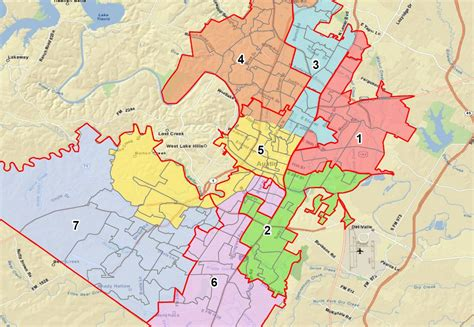 texas isd map school board to discuss redistricting process monday kut