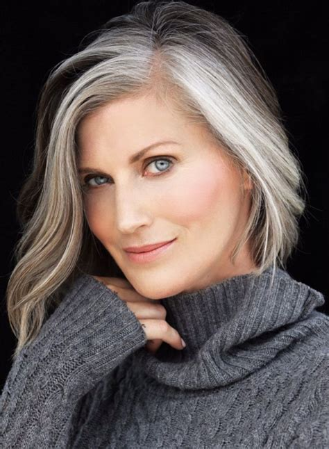 looking with grey hair the 25 best gray hair transition ideas on pinterest