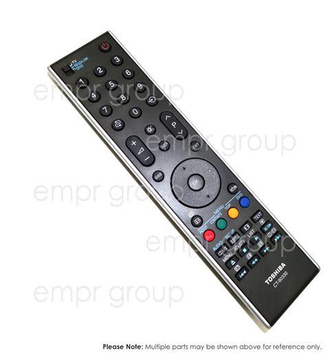 Toshiba Remote Crtlcdled Tv Original toshiba parts 40cv550a remote empr 174 australia