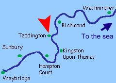 tidal river thames map tidal rivers can cause problems