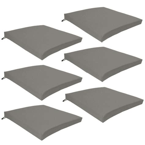 Patio Furniture Chair Pads by Multipacks Outdoor Waterproof Chair Pads Cushions Only