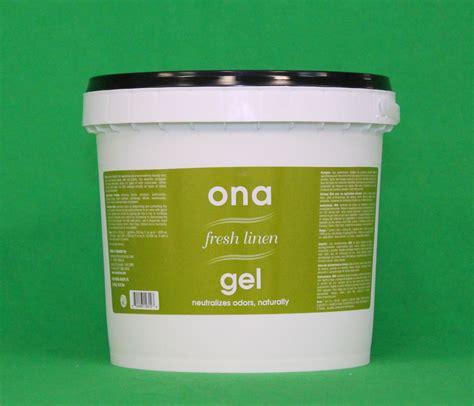 clean air odor neutralizing gel ona fresh linen gel 1gallon pail 4l eliminate odor