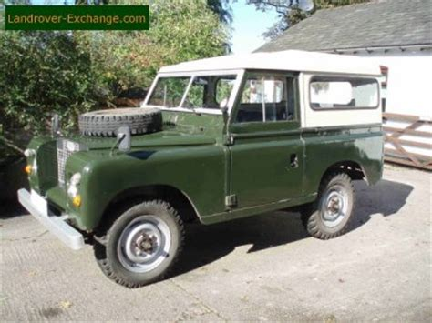 1970 land rover for sale land rover series 2a for sale in cheshire 3970 more used