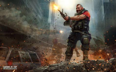 wallpaper of action games world of mercenaries hd wallpaper action adventure games