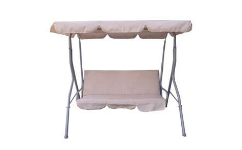 3 Seater Garden Swing Chair by Garden Swing Hammock 3 Seater Chair Fhsc01 Beige Kms Direct