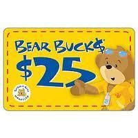 Build A Bear Workshop Gift Card - 25 build a bear buck gift card giveaway mamal diane
