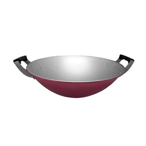 Wajan 35 Cm Kualitas Besar jual maspion clarita wajan penggorengan 35 cm harga kualitas terjamin blibli